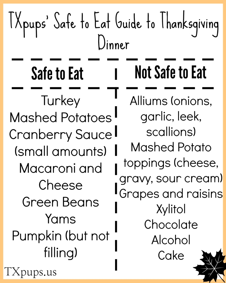 safe to eat thanksgiving guide