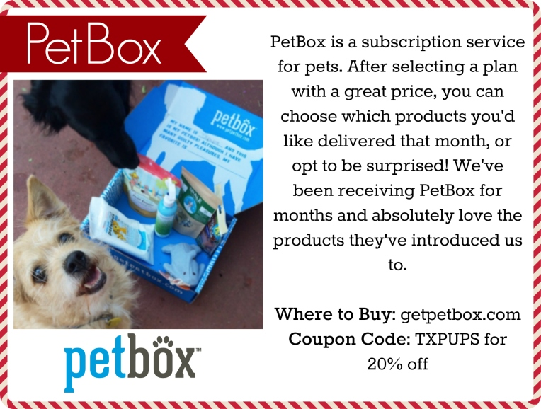 petbox holiday gift guide